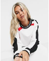 DKNY T-shirt a maniche lunghe corta - Bianco