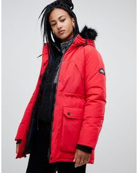 Penfield – Kirby – Parka - Rot