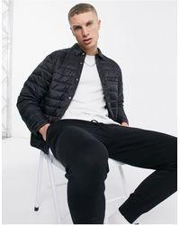 New Look Padded Overshirt - Black