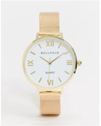 Bellfield - Bracelet Mesh Watch - Lyst