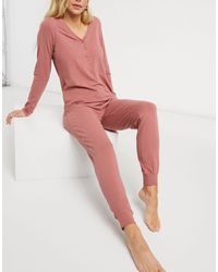 Lindex Astrid Organic Cotton Pyjama Bottoms - Pink