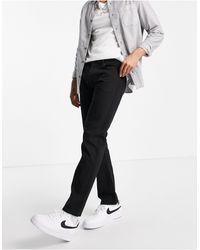 TOPMAN Straight Jeans - Black