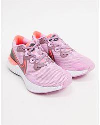Nike Renew Run Sneakers - Pink