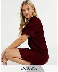 Reclaimed (vintage) Inspired Puff Sleeve Mini Dress