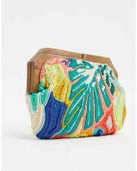 Accessorize Декорированный Клатч С Принтом -мульти - Многоцветный