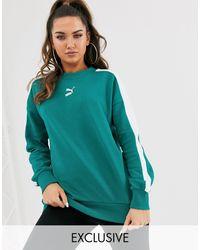 PUMA Exclusivité - Classics T7 - Sweat-shirt - sarcelle - Vert