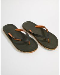 Jack & Jones - Flip Flops With Moulded Sole - Lyst