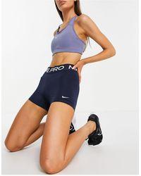 Nike Nike - Pro Training 365 - Short 3 pouces - marine foncé - Bleu