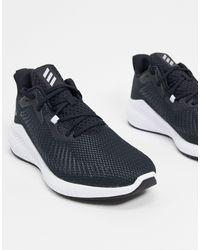 adidas Originals Черные Кроссовки Adidas Alphabounce-черный