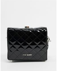 Steve Madden Chrissy Crossbody Bag With Quilting - Black