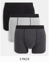 New Look - Confezione da 3 boxer - Lyst
