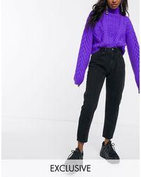 Reclaimed (vintage) The '89 Slim Tapered Leg Jean - Black