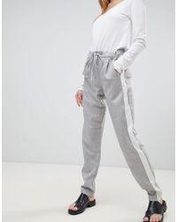 B.Young - Side Stripe Pants - Lyst