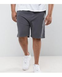 Basic Peached Jersey Shorts - Black Another Influence eO7zon