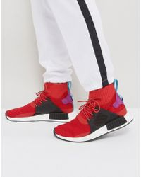 adidas Originals - Nmd Xr1 Winter Trainers In Red Bz0632 - Lyst