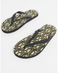 ASOS Flip Flops - Multicolor