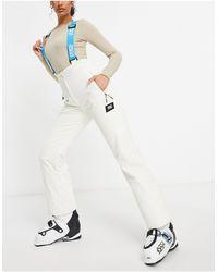 ASOS 4505 Лыжный Вельветовый Комбинезон С Завышенной Талией -светло-бежевый - Многоцветный