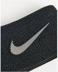 Nike Эластичная Лента Swoosh-черный Цвет