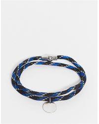 Burton Веревочный Браслет Burton-голубой - Синий