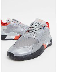 adidas Originals Nite Joggers - Sneakers - Metallic