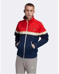 adidas Originals - Куртка Красного/темно-синего Цвета Premium Samstag-белый - Lyst