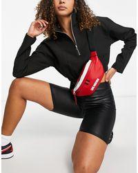 Love Moschino Красная Сумка-кошелек На Пояс С Логотипом -красный