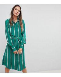 Y.A.S - Stripe Shirt Dress - Lyst