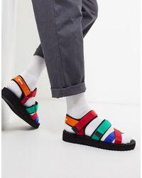 Tommy Hilfiger Sandalen Met Bandje En Logo - Meerkleurig