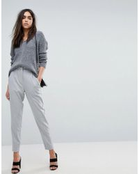 Y.A.S - Tailored Trouser With Elasticated Waist - Lyst