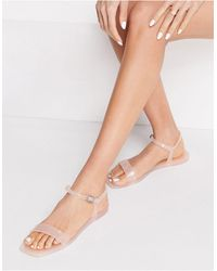 Truffle Collection – Jelly-Sandalen - Natur