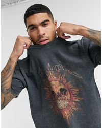 TOPMAN Metallica T-shirt - Black