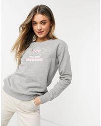 Lee Jeans Lee Logo Sweatshirt - Grey