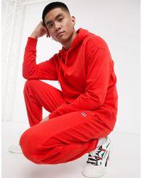 Russell Athletic – ernie – jogginghose mit engen bündchen - Rot