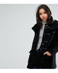 Gloverall - Exclusive Duffle Coat With Detachable Hood - Lyst
