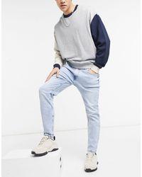 Bershka Skinny Jeans - Blue
