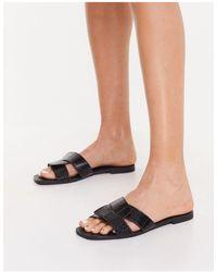 Pimkie Crossover Sandals - Black