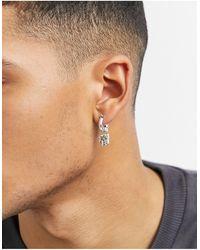 Classics 77 Hoop Earrings - Metallic
