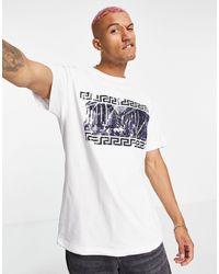 Liquor N Poker Oversized T-shirt - White