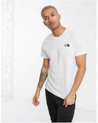 The North Face Camiseta blanca Simple Dome - Blanco