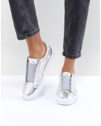 ASOS - Design Duckling Slip On Sneakers - Lyst