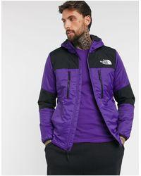 The North Face Фиолетовая Куртка С Капюшоном -фиолетовый - Пурпурный