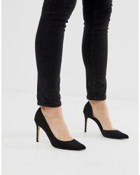 Mango - Asymmetric Court Shoe In Black - Lyst