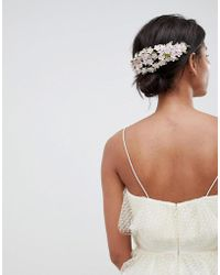 ASOS - Mini Flower Back Hair Clip - Lyst