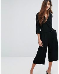 SELECTED | Dalima 3/4 Jumpsuit | Lyst