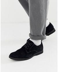 Timberland - Черные Кожаные Туфли На Шнуровке - Lyst