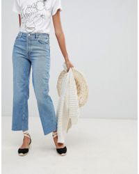 Warehouse - Authentic Cut Straight Leg Jeans - Lyst