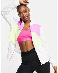 PUMA Белая Куртка Run Ultra-многоцветный