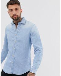 G-Star RAW - Bristum - Denim Overhemd Met Lange Mouwen - Lyst