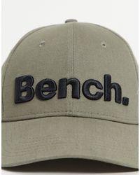 Bench Large Logo Cap - Green