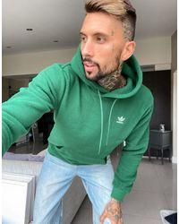 adidas Originals Худи Зеленого Цвета Из Плотного Флиса -зеленый